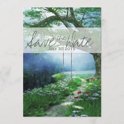 PATH TO FOREVER WOODLAND STREAM SAVE THE DATE