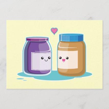 Peanut Butter and Jelly Save The Date