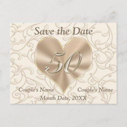 Personalized 50th Anniversary