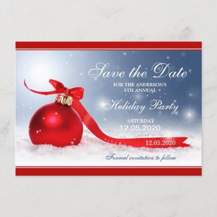 Personalized Christmas Party