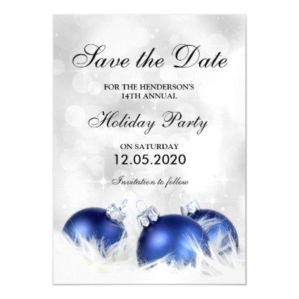 Personalized Christmas Party Save The Date Magnets