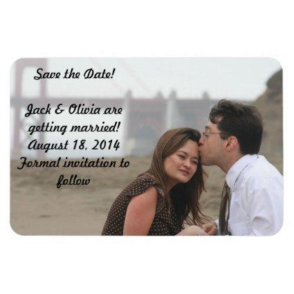 Personalized Magnets - Save the Date