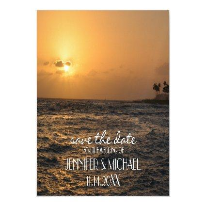 Personalized Photo Save the Date Magnetic Invitation
