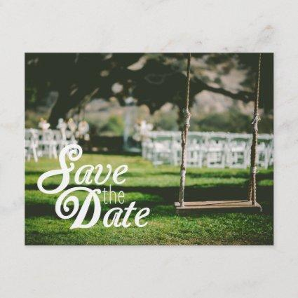 Photo Save the Date | You Can Move the Lettering!