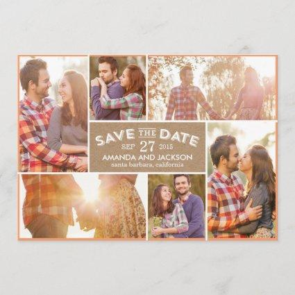 Photo Showcase Save The Date - Craft