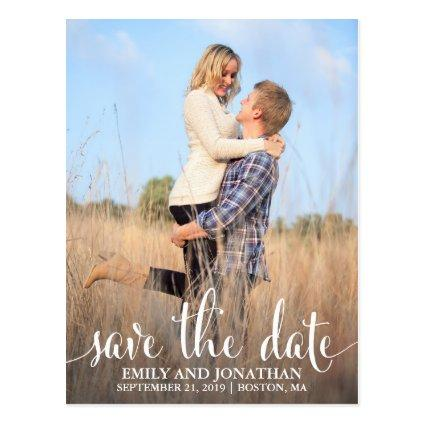 Photo Wedding Save The Date Cards, One Picture Cards