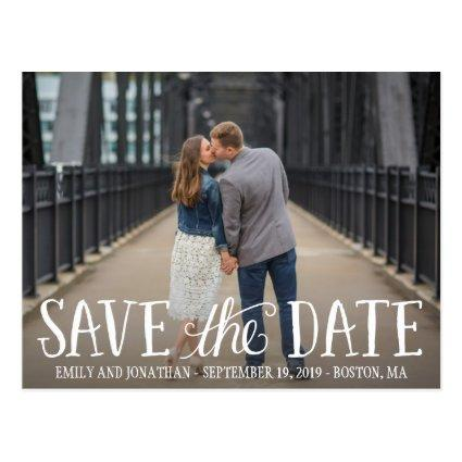 Picture Save The Date Cards, Horizontal Picture Cards