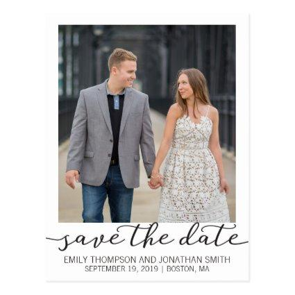 Picture Save The Date Cards, Photo with Border Cards