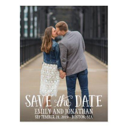 Picture Save The Date Cards, Vertical Picture Cards