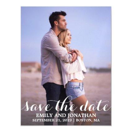 Picture Wedding Save The Date Magnets, One Magnetsic Invitation