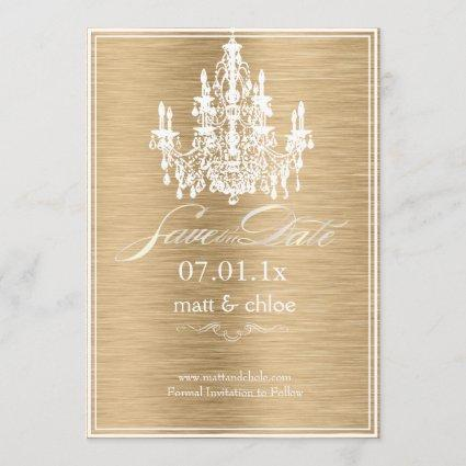 PixDezines diy color/chandelier/save date Save The Date