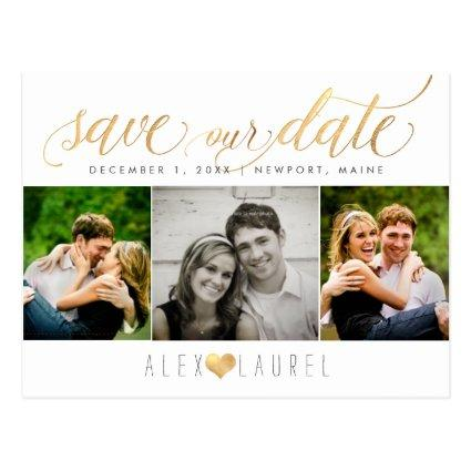 PixDezines DIY color/Save our Date/Faux Gold Cards