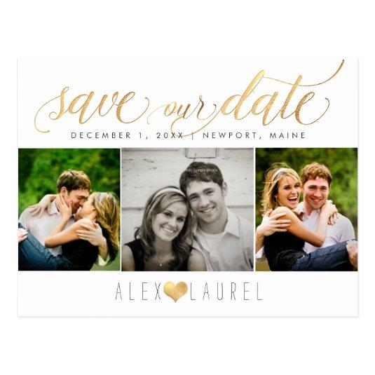 PixDezines DIY color/Save our Date/Faux Gold