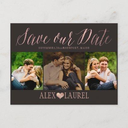PixDezines DIY color/Save our Date/Fun Script Announcements Cards