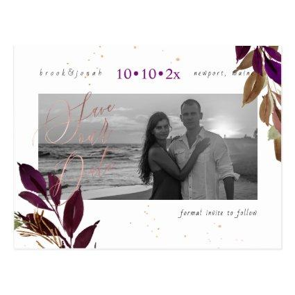 PixDezines Fall Foliage Save our Date