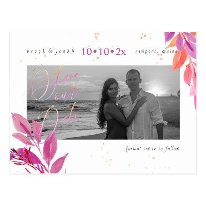 PixDezines Summer Foliage Save our Date