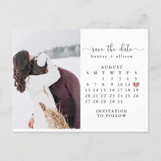 Post Card | Calendar Save the Date