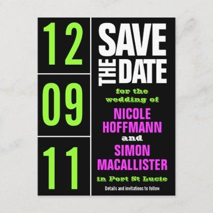Pure Type Save The Date