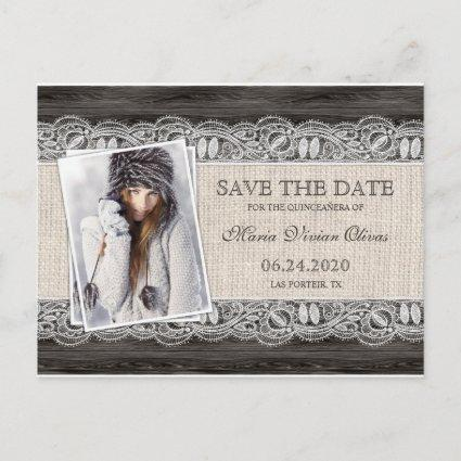Quinceanera Photo Invitations Save The Date