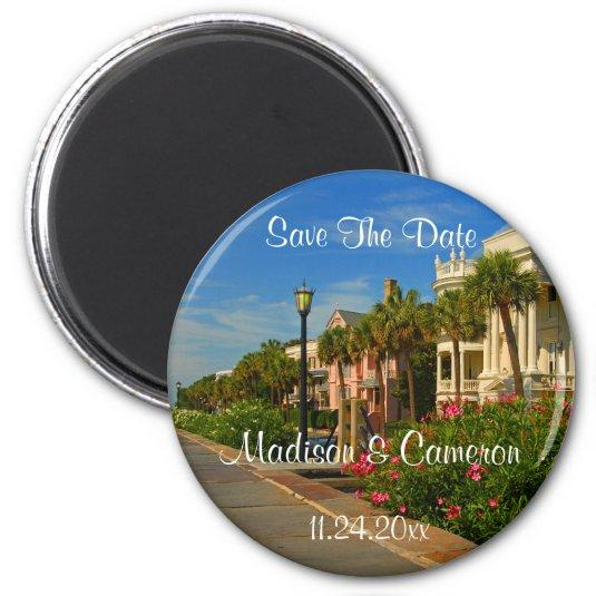 Rainbow Row Save The Date Wedding Save The Date Magnets