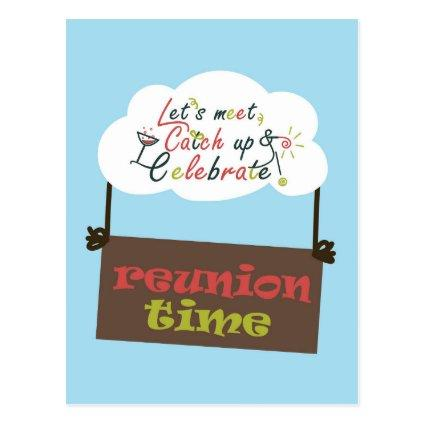 Reunion design template