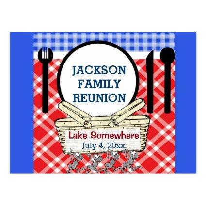 Reunion - Red, White & Blue Picnic or BBQ