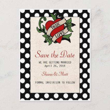 Rockabilly Save the Date