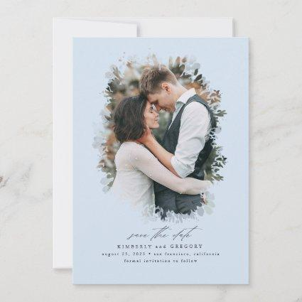 Romantic and Dreamy Save the Date Photo