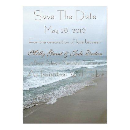 Romantic Save The Date Magnets Save The Date Cards Save the Date – Beach Wedding Save the Date Magnets