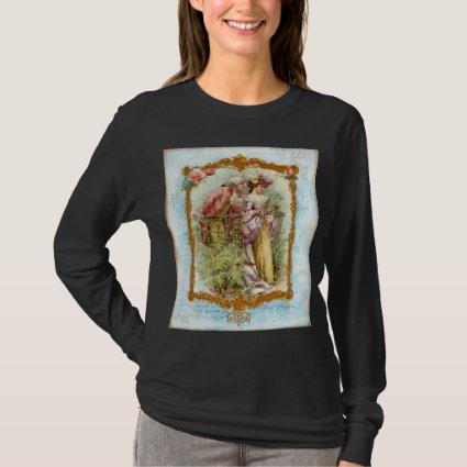 Romantic Couple French Regency Style T-Shirt