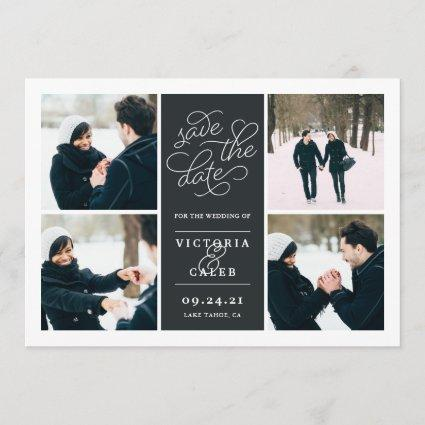 Romantic Request | Photo Collage Save the Date