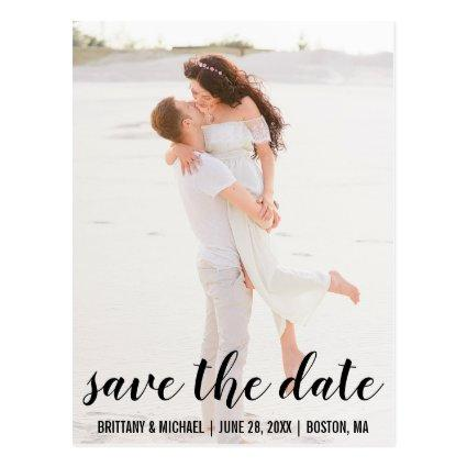 Romantic  Engagement Photo Cards