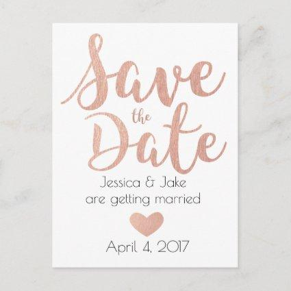 Rose Gold, Save the Date