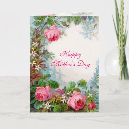 ROSES & JASMINES, Happy Mother's Day Card