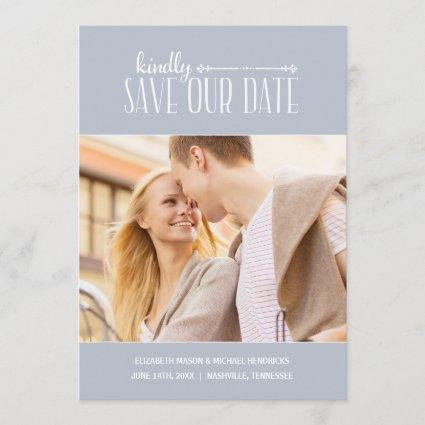 Rustic Charm | Photo Save the Date