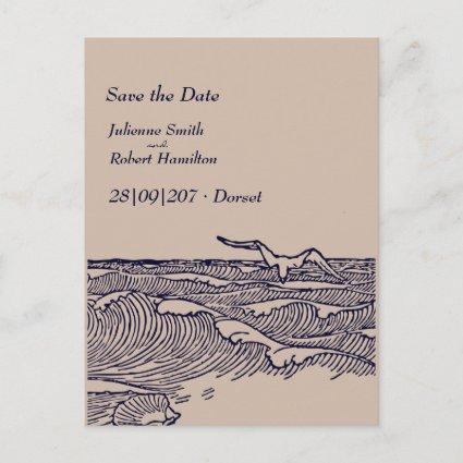 Rustic Chic Wedding Save the Date Cards