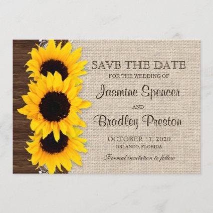Rustic Country Sunflower