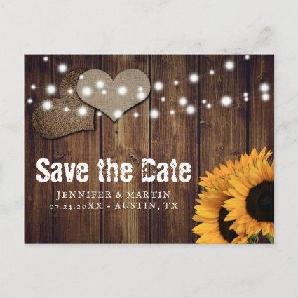 Rustic Country Sunflower Wedding