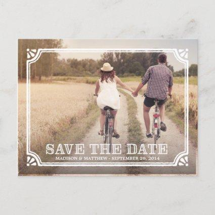 Rustic Frame | Save the Date Cards