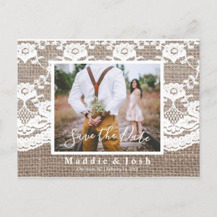 Rustic l Burlap and Lace