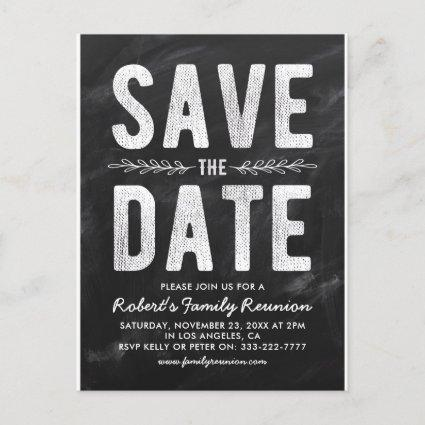 Rustic Party, Reunion or Wedding  Announcements Cards