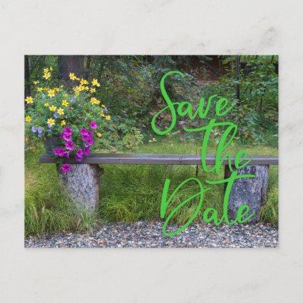 Rustic Save The Date Typography Family Reunion Announcements Cards