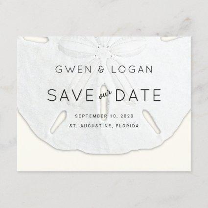 Sand Dollar Wedding Save Our Date