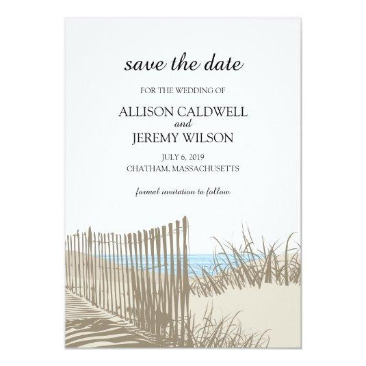 Sand Dunes |  Save the Date 5x7 Paper Invitation Card