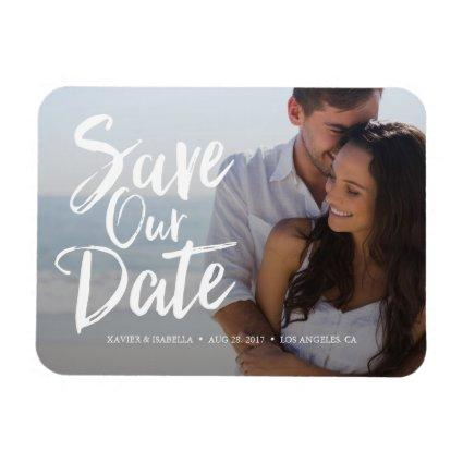Save Our Date Announcements Magnets