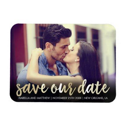 Save Our Date In Champagne | Personal Magnets
