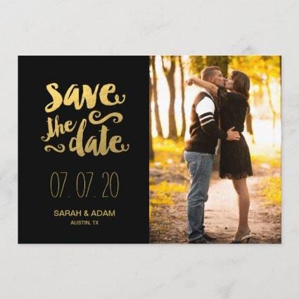 Save Our Date   Photo Save the Date Card