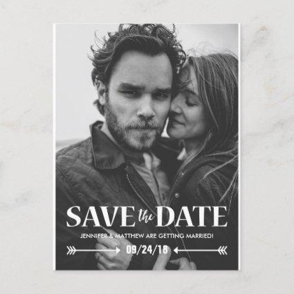 Save our Date Photo Wedding Announcement