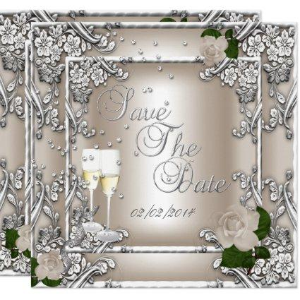 25th Anniversary Wedding Cards