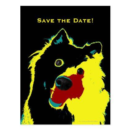 40 birthday save the date cards save the date cards 40th birthday happy dog announcements cards bookmarktalkfo Images